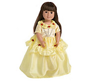 Doll/Plush Yellow Beauty Costume by Little Adventures - T124496