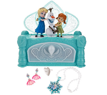 Disney S Frozen Musical Jewelry Box Qvc Com