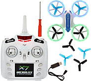 Odyssey X-7 Microlite Quadcopter with Illuminated Blade Guards - T34196