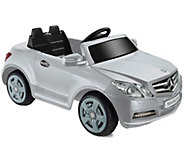 Mercedes Benz E550 One-Seater Silver 6V Ride-On Vehicle - T125897