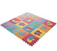 Hey! Play! Foam Floor Animal Puzzle LearningMat - T127797