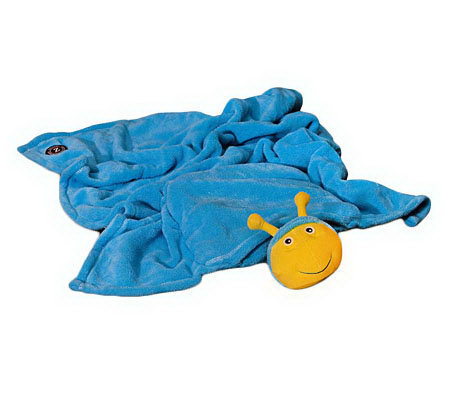 Zoobies 3-in-1 Glow in the Dark Blanket Pet