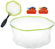 Set of Two Rechargeable Fish w/ Tank & Net - T33597