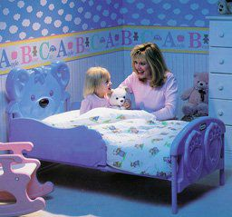Little Tikes 7746 Teddy Bear Toddler Bed Qvc Com