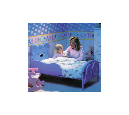 Little Tikes 7746 Teddy Bear Toddler Bed QVC