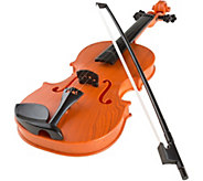 Hey! Play! Battery Operated Musical Toy Violinwith Bow - T127899