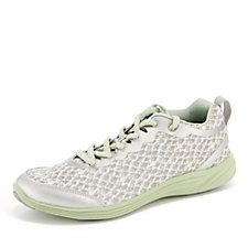 Vionic Orthotic Agile Python Lace Up Trainer w/ FMT Technology