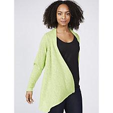 Kim & Co Soft Sweater Knit Edge To Edge Cardigan