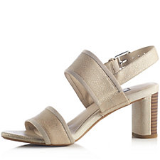 161500 - Clarks Amali Ava Two Part Sandal with Heel Strap