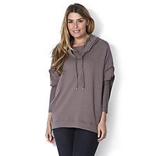 Anybody Cowl Neck Trapeze Sweatshirt