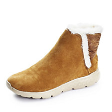 163700 - Skechers On The Go 400 Cozies Slip On Ankle Boot