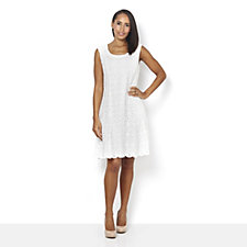 Ronni Nicole Sleeveless Stretch Lace Fit & Flare Dress