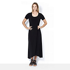 Kim & Co Brazil Knit High Low Hem Maxi Dress Regular Length