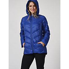 Packable Quilted Down Jacket with Pouch by Susan Graver