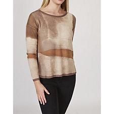 MarlaWynne Printed Box Sweater