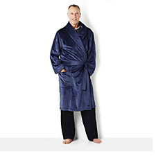 Stan Herman Men's Wrap Front Dressing Gown