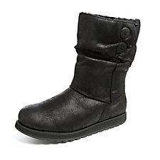Skechers Keepsakes Mid Calf Boot w/ 2 Button Detail & Memory Foam