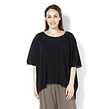Join Clothes Pleated Chiffon Top