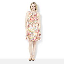 Ronni Nicole Sleeveless Printed A Line Dress
