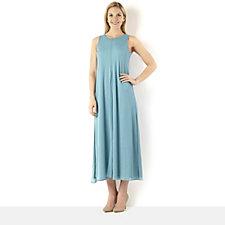 MarlaWynne Mesh Overlay Sleeveless Maxi Dress