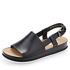 161502 - Clarks Alderlake May Slider Open Toe Sandal with Adjustable Strap