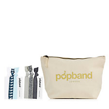 Popband Pouch with 6 Hairbands