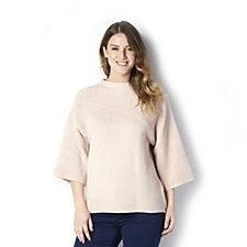 MarlaWynne Mixed Ottoman Sweater