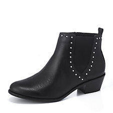 Vionic Orthotic Joy Lexi Studded Ankle Boots with FMT Technology