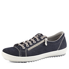 Rieker Lace Up Trainer with Zip Detail