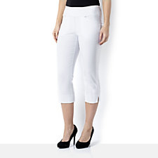 Mr Max Crop Trouser with Tummy Tuck and Split Sides