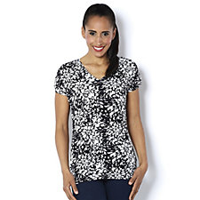 159303 - Marigold Print Jersey Top by Michele Hope