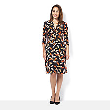 Archipel 3/4 Sleeve Dress by Onjenu London