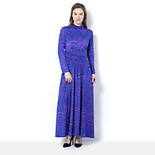 Lauren High Neck Maxi Dress by Onjenu London
