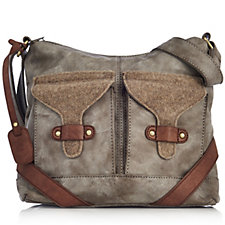 Rieker Cross Body Bag with Front Pockets