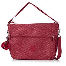 Kipling Phaena Premium Large Hobo Bag with Detachable Shoulder Strap