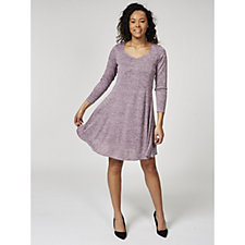 Grace Sweetheart Neck Swing Dress
