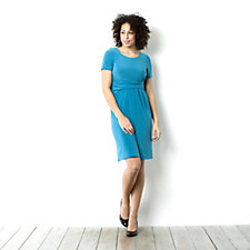 Tiana B Short Sleeve Jersey Dress