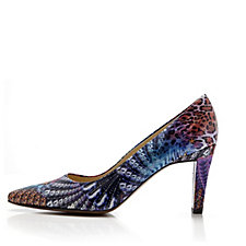 Peter Kaiser Tosca Patent Leather Printed Court Shoe