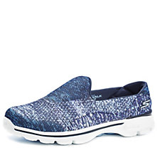 158504 - Skechers GOwalk 3 Glisten Sublimation Slip On with GO Pillars