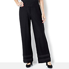 Isaac Mizrahi Live Lace Trousers