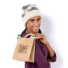 Muk Luks Cuff Cap with Gift Bag