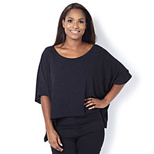 Join Clothes Knitted Cropped Tunic Top