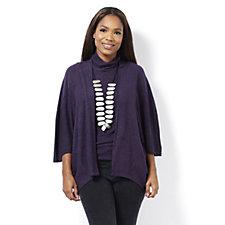 MarlaWynne Jasper 3/4 Sleeve Kimono Cardigan
