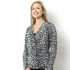Outlet Fashion by Together Animal Print Wrap