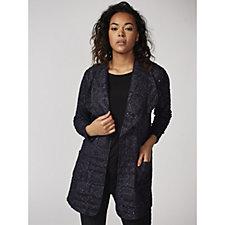 Boucle Style Edge to Edge Jacket by Michele Hope