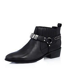 Bronx Leather Chelsea Ankle Boot