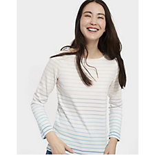 Joules Harbour Ombre Stripe Jersey Top