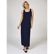 Kim & Co Brazil Knit Sleeveless Maxi Dress