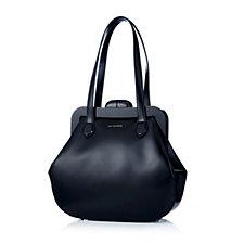 Lulu Guinness Mid Pollyanna Polished Leather Shoulder Bag