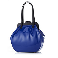 Lulu Guinness Shiny Patent Leather Large Pollyanna Bag